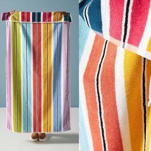 Anthropologie Rainbow Cabana Beach Towel New In Anthropologie Packaging